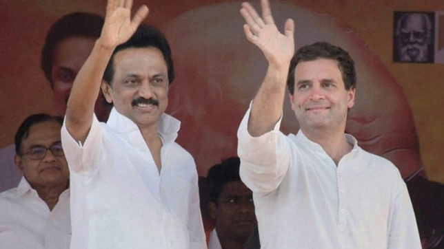 Amid strained ties, MK Stalin to meet Rahul Gandhi in Delhi today