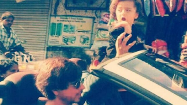 WATCH: Daddy Shah Rukh Khan and his bundle of cuteness AbRam out on a long drive