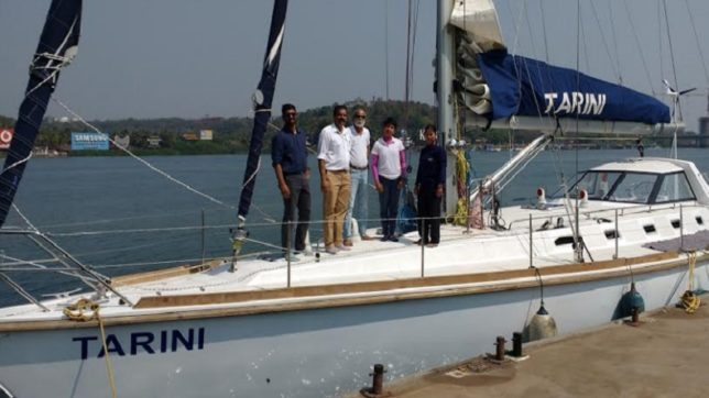 Indian Navy gets mightier with induction of sailboat INSV Tarini