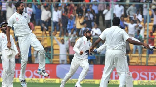 12)-Virat-Kohli-of-India-celebrates-fall-of-a-wicket-during-the-fourth-day-of-the-second-test