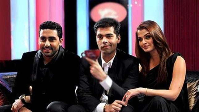 Karan Johar congratulates Abhishek, Aishwarya for completing 10 years of marital bliss