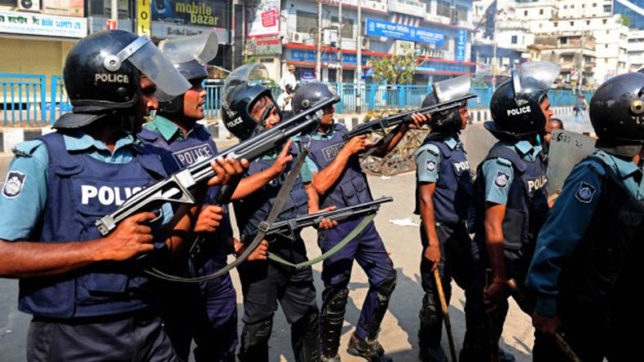 Two killed in police raid in Bangladesh