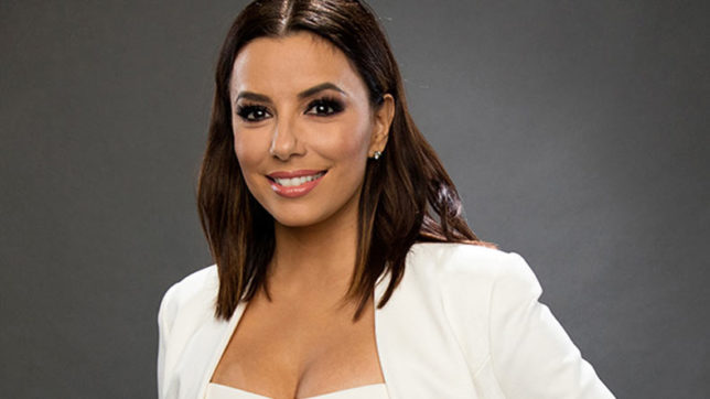 Eva Longoria credits mother for great hair