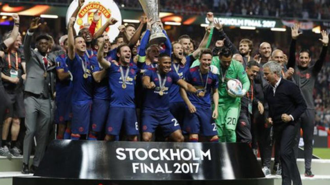 With Manchester attack wound still fresh, Man United claims Europa League title