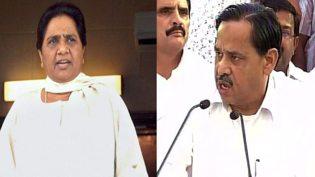 Mayawati denies Siddiqui's charges, dubs him extortionist