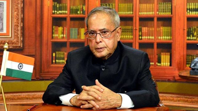 Not in race for another term, says President Mukherjee