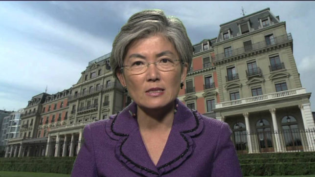South Korean FM nominee calls for humanitarian aid to North