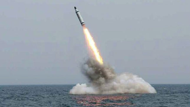 North Korea test-fires another ballistic missile
