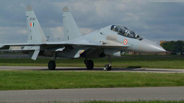 Wreckage of missing IAF SU-30 found along China-India border