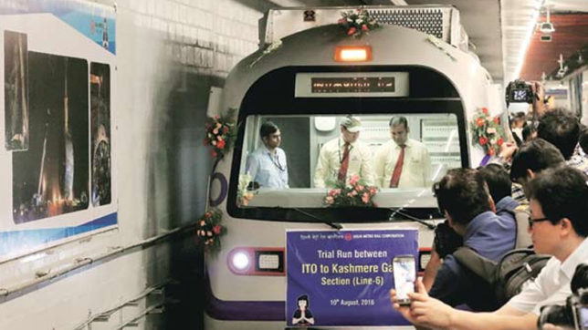 Delhi Metro's 'Heritage Line' to start Sunday