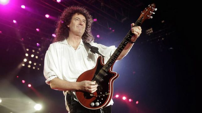 Brian May says he is in 'a much better place'