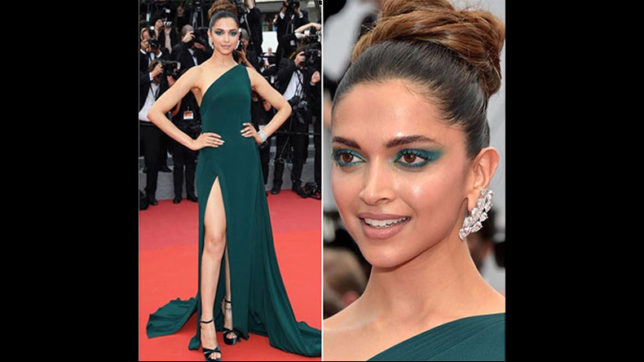 With smoky eyes, thigh-high slit, Deepika Padukone styles up at Cannes