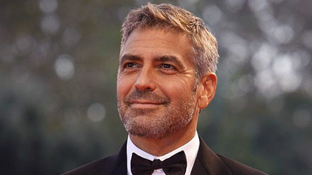 Actor George Clooney feels people can make a difference