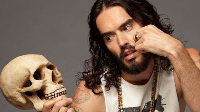 Actor-comedian Russell Brand wants men to speak out