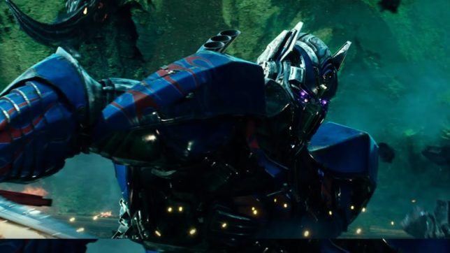 Transformers5: Is Optimus Prime going to merge with Bumblebee's body?