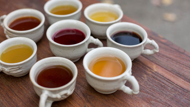 Benefits of different teas