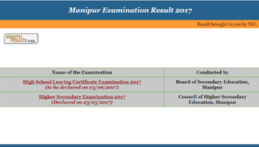 manresults.nic.in, Manipur BSEM board Class 10 X result 2017 to be declared today @ indiaresults.com