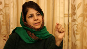 Mufti's comment comes a day after Lashkar-e-Taiba (LeT) militants ambushed a police jeep in which six policemen including a Station House Officer was killed in the Anantnag district.