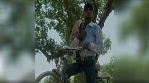 Kaushambi man dead niece bicycle hospital
