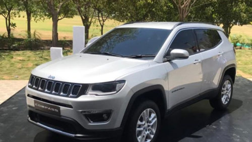 Jeep Compass launching in August