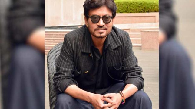 Irrfan Khan shooting for 'Puzzle' in New York