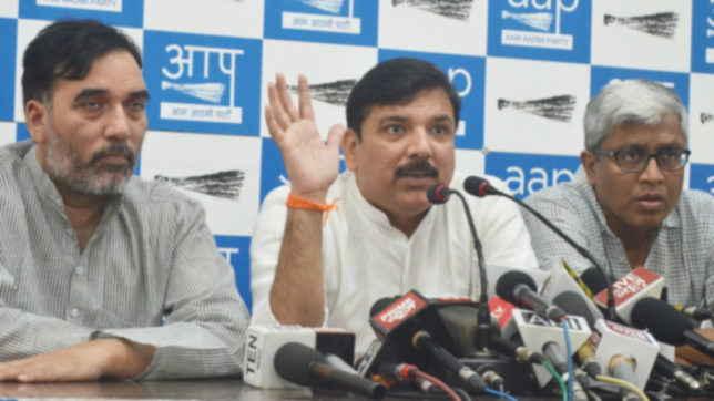 Centre protecting those named in Panama Papers leak: AAP