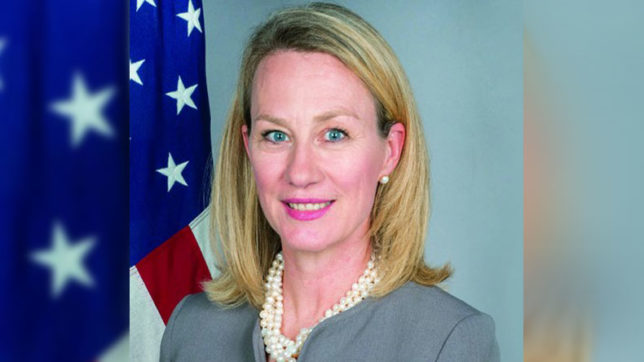 Top US diplomat Alice Wells to travel to India, Pakistan