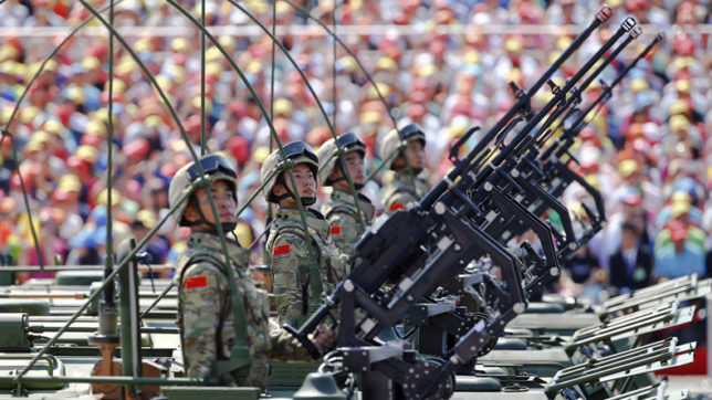 China begins first-ever Army Day parade
