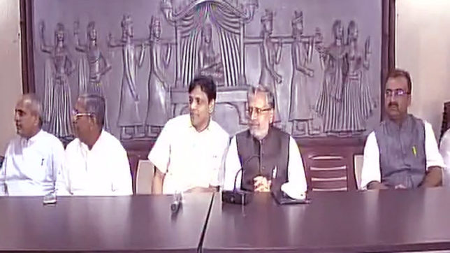 Bihar crisis — Not in favour of mid-term elections: BJP on Nitish's resignation