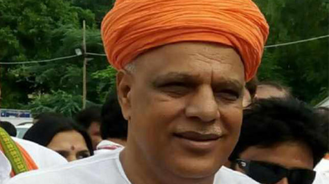 BJP MP Virendra Singh demands special Parliament session on farmer issues