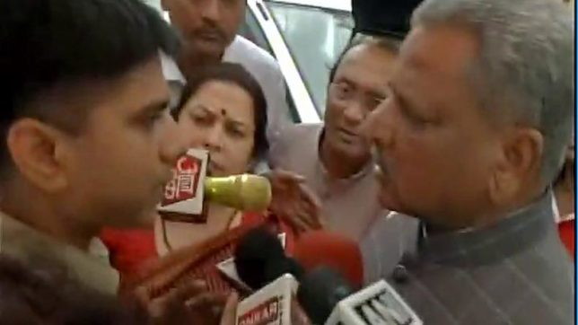BJP MPs stopped from entering troubled Basirhat