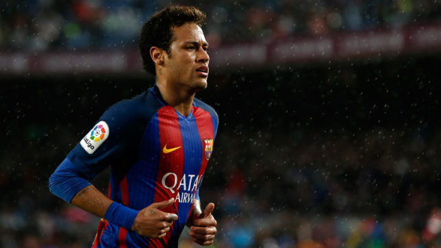 Barcelona's-Neymar-makes-transfer-rumour-to-PSG-vivid-after-training-scuffle-with-Semedo