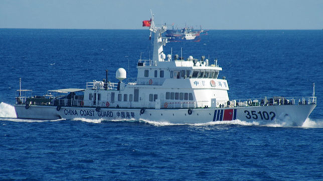 Chinese coast guard ships enter Japanese territorial waters
