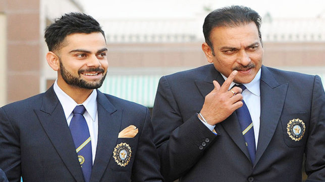 Kohli feels no extra pressure after Shastri takes over as head coach