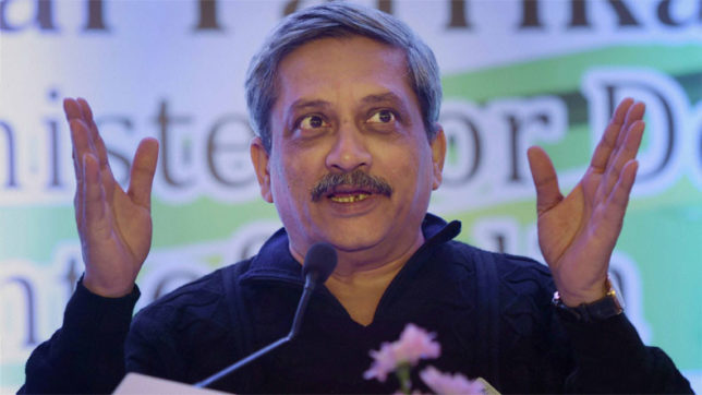 Presidential election: Manohar Parrikar takes dig at Congress over cross-voting