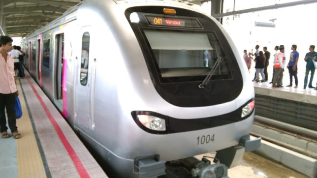 Mumbai Metro installs plastic crushers at six stations of twelve stations