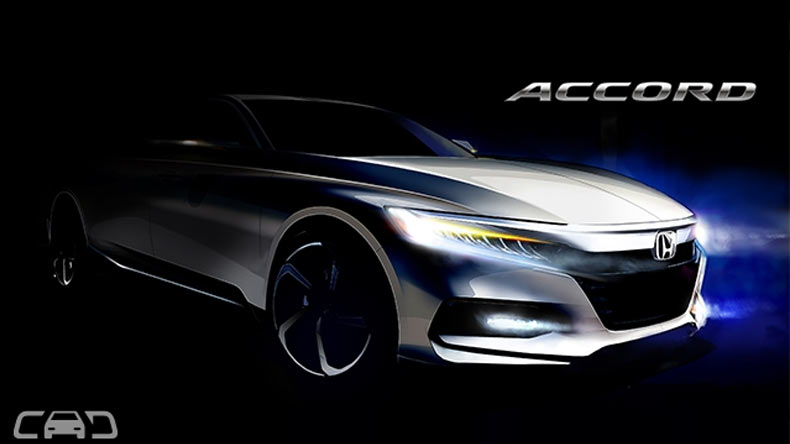New accrod, Honda Accord, Japan, Detroit , Honda Reveals 2018 Accord, luxury sedan, hybrid powertrain, auto news, breaking news, top news, latest news