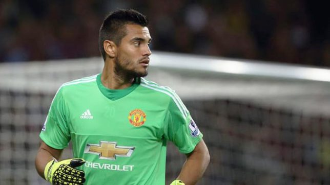 Sergio Romero will stay and fight for his place at Manchester united