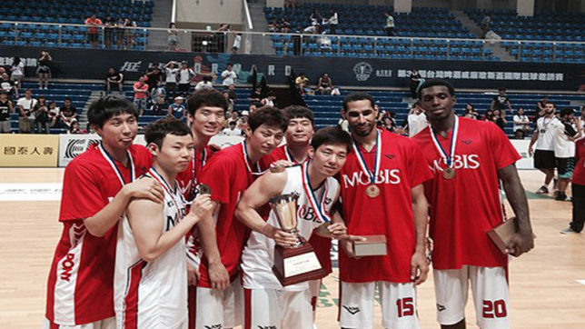 South Korea edged to a victory over India in basketball tourney