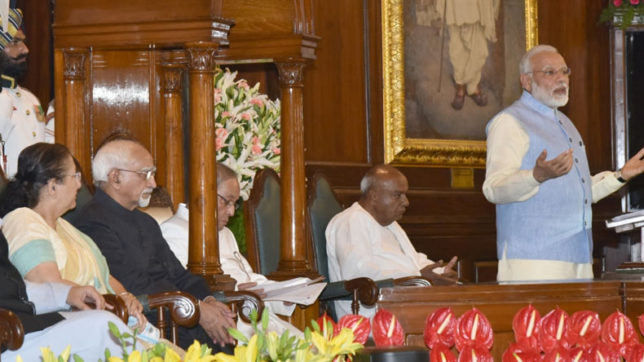 GST Highlights: Top remarks by PM Modi during midnight session in Parliament