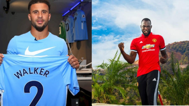 Lukau to United, Kyle walker to City, Here are the top 5 biggest football transfers of the 2016-17 so far