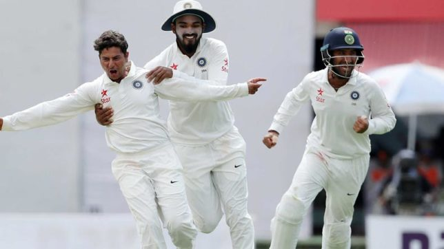 Kuldeep, Jadeja shine in warm up tie against Sri Lanka Board President Xl as India end Day-1 at 135/3