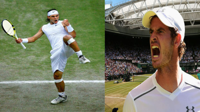 Andy Murray,  Rafael Nadal cruise into third round at Wimbledon