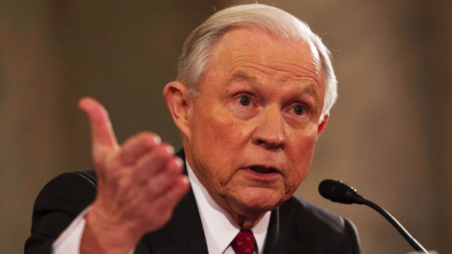 Jeff Sessions plans to stay on despite Donald Trump criticism