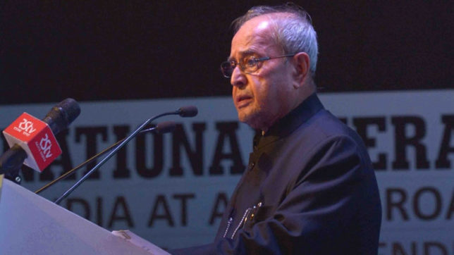 President Pranab Mukerjee lends his voice against lynching incidents