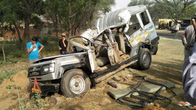 Haryana: 8 killed after car collides with truck