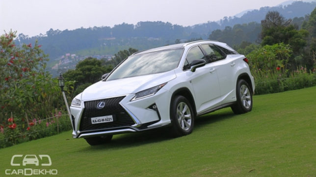 Lexus UX and RX heading for 2017 Tokyo Motor Show debut