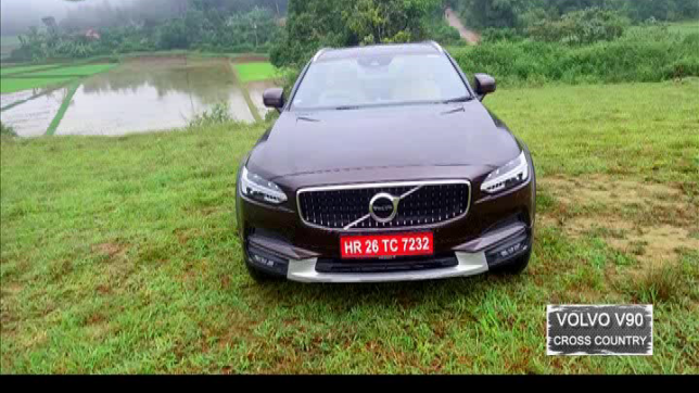 Living Cars: First Drive of Volvo V90 Cross Country