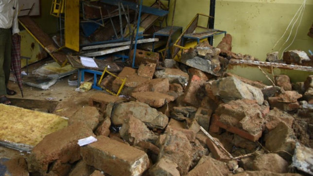Maharashtra: 3 students dead, 35 injured as classroom roof collapses in Ahmednagar