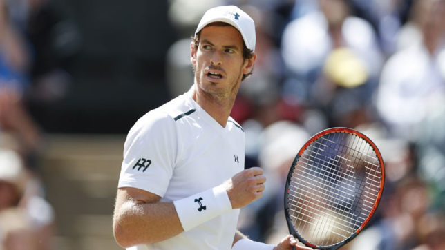 Andy Murray retains top spot in the ATP singles rankings